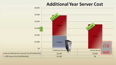 Additional Year Server Cost
