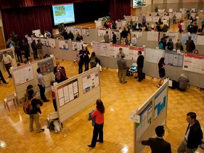 An overview of the third annual Undergraduate Research & Artistry Day.