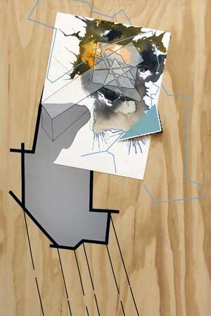 "Ben Rosecrans' ""Accipround.1,"" 2012 (detail)"