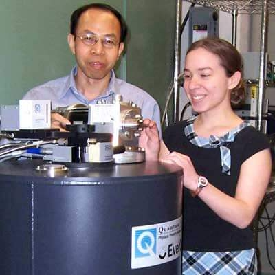 Xiao, Arriaga and a high magnetic field and extra-low temperature system.