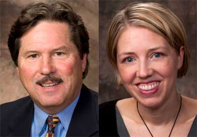Jeffrey Carroll is director of Leadership Development. Jennifer Butler Ellis is director of Professional Development.