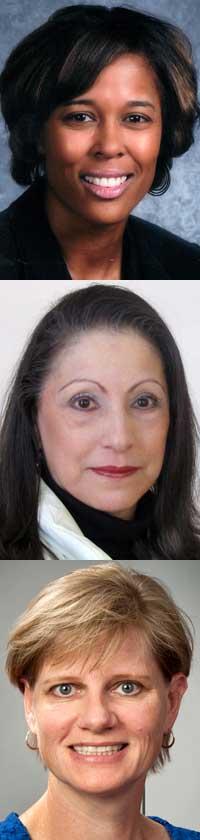 Ankhe Bradley, Sylvia R. Cadena Smith and Linda Szymanski