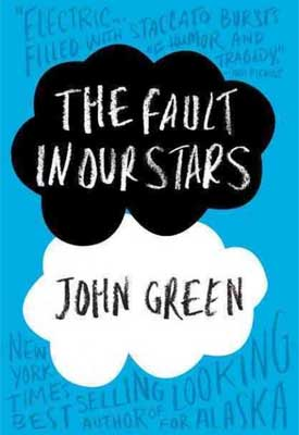 "Book cover of ""The Fault in Our Stars"""