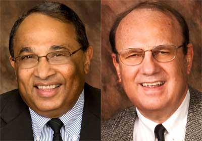 Narayan Hosmane and Gaylen Kapperman