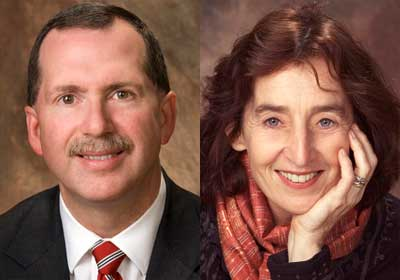 Christopher McCord and Catherine Raymond