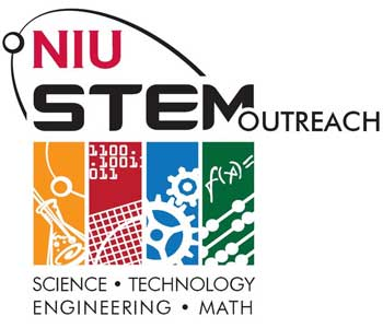 NIU STEM Outreach logo