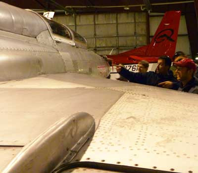 NIU mechanical engineering students explore DeKalb Taylor Municipal Airport