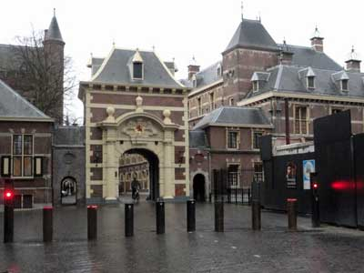 The Hague Palace. Photo courtesy Christoper Jones.