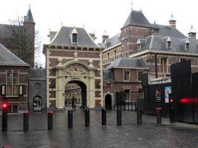 The Hague Palace. Photo courtesy Christopher Jones.