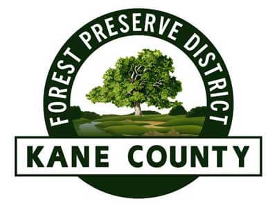 Logo of the Kane County Forest Preserve District