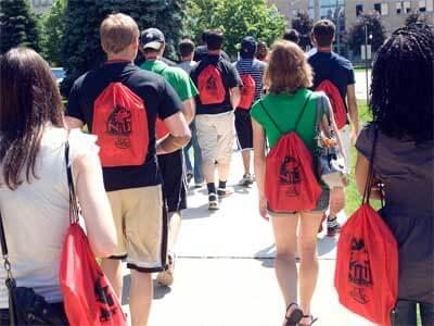 Summer orientation tour