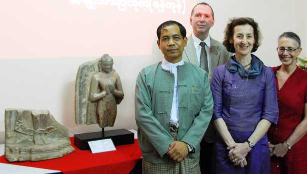 U Ko Ko Hlaing, chief political adviser to President Thein Sein, joins NIU's Chris McCord, Catherine Raymond and Amy Levin