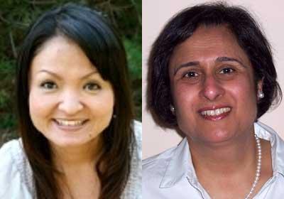 Lisa Takara and Shiraz Tata