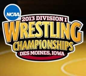 NCAA 2013 Division I Wrestling Championships logo