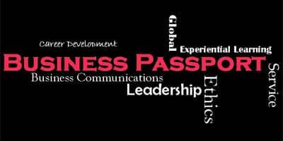 NIU Business Passport Program logo