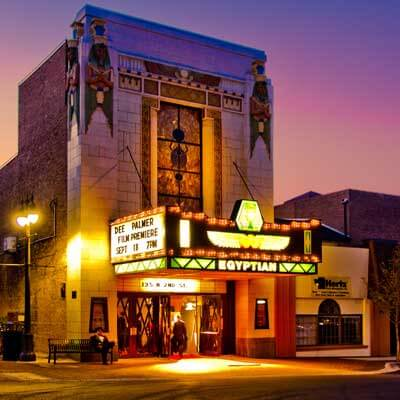 DeKalb's Egyptian Theatre