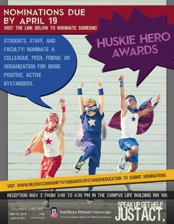 Huskie Hero awards