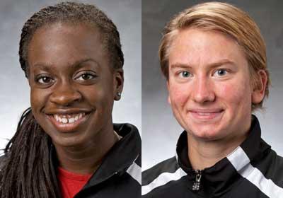 Jenelle McCalla and Juliane Totzke