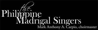 Philippine Madrigal Singers logo