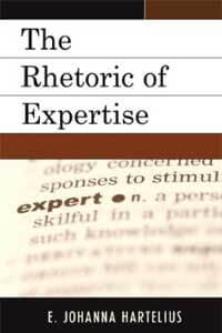 "Book cover of ""The Rhetoric of Expertise"""