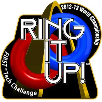 FIRST Tech Challenge logo: Ring It Up!