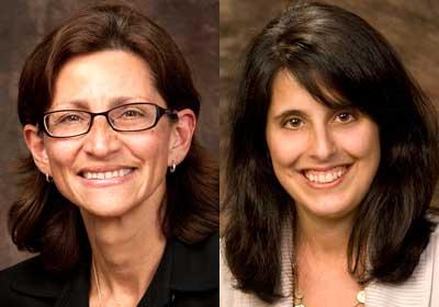 Jennifer Rosato and Anita Maddali