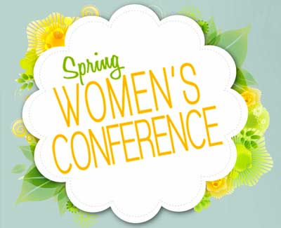Spring Women's Conference logo
