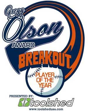 Gregg Olson Award logo