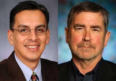 Carlos Huerta and Bruce Kochis