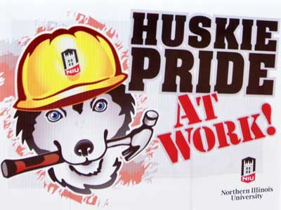Huskie Pride At Work!