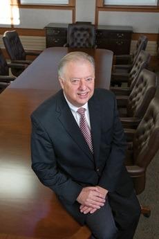 NIU President John G. Peters