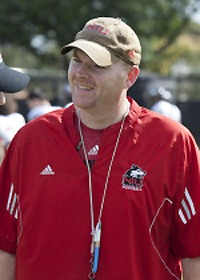 NIU football coach Rod Carey