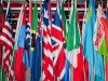 Photo of international flags