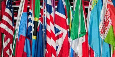 Photo of international flags
