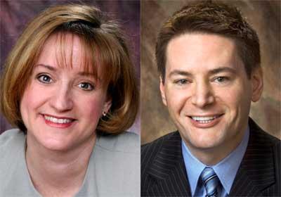 Judy Santacaterina and John Butler