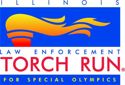 Logo of the Illinois Law Enforcement Torch Run for Special Olympics