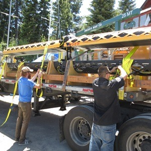 The remotely operated vehicle arrived at Lake Tahoe this past weekend.