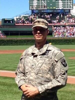 Richard Bennett was awarded a Silver Star for his heroics in Afghanistan