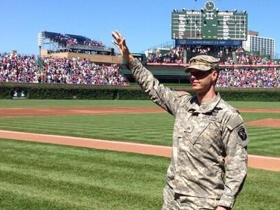 Richard Bennett honored at Wrigley Field July 12