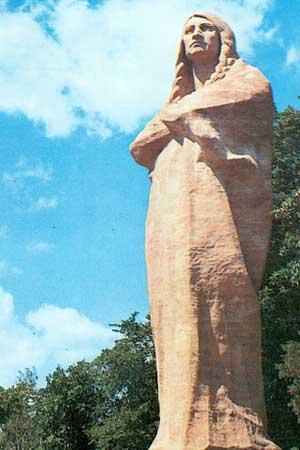 Lorado Taft's Blackhawk statue