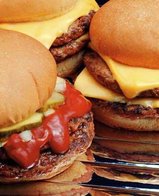 Photo of cheeseburgers