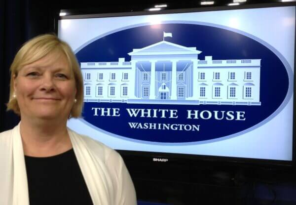 "Laura Anderko was honored by the White House as a ""Champion of Change"" July 9. (Photo courtesy Georgetown Univ. Medical Center)"