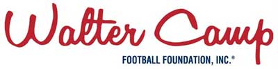 Walter Camp Football Foundation logo