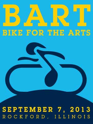 BART Bike For The Arts poster