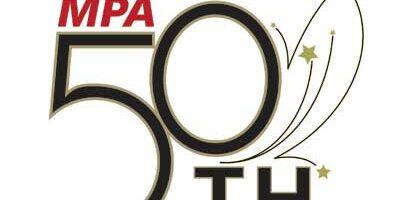 MPA 50th anniversary logo: Celebrating the Legacy ... Inspiring a New Generation