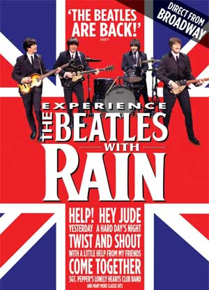 RAIN: A Tribute to the Beatles poster