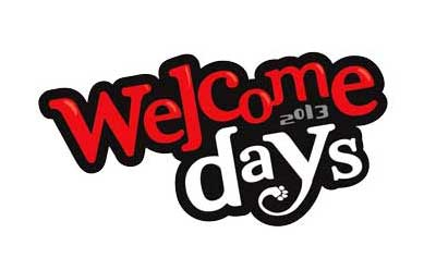 Welcome Days 2013 logo