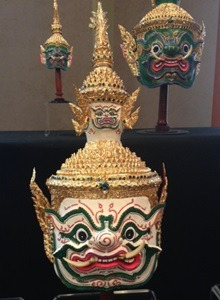 """In honor of the royal visit, an exhibition titled, """"Tai Cultures at Northern Illinois University,"""" will continue to be on display through noon Thursday, Sept. 19, in Room 203 of Altgeld Hall."""