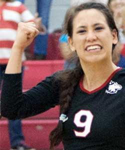 Paige Dacanay, NIU Volleyball libero