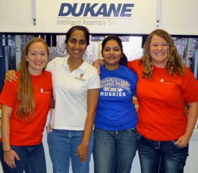 Lacey LaBelle, Shanthi Muthuswamy, Swati Goyal and Andrea Briggs